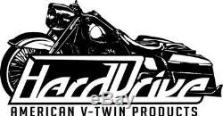 Harley Davidson 9/16 Chrome Handlebar Controls witho Switches HardDrive 26-095