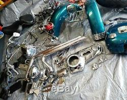 Harley Davidson Chrome Handlebar Controls Switches Levers Cables Grips