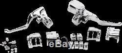 NEW DRAG SPECIALTIES 0610-0801 Handlebar Control Kits