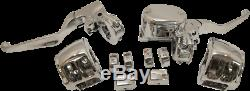 NEW DRAG SPECIALTIES 0610-0802 Handlebar Control Kits