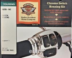New Harley Kit, Chrome Handlebar Controls- Flh P/n 70426-08