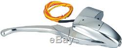 Omp 3-d Chrome Handlebar Hand Control Master Cylinder Harley 5/8 Bore 08-835
