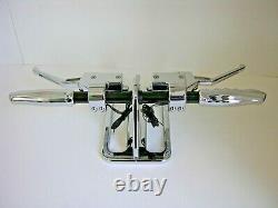 Outlaw Hydraulic Clutch Handlebar Custom Hand Control Kit Chrome Harley