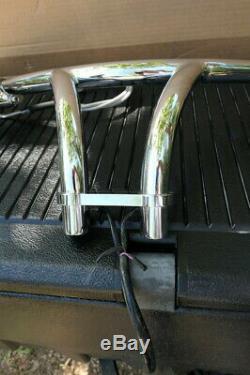 Performance Machine Harley Chrome Handlebar w Hand Controls Levers Wiring Grips