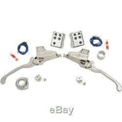 Performance Machine Master Cylinder Hydraulic Handlebar Control Set 0062-4022-CH