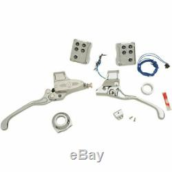 Performance Machine PM 9/16 Handlebar Controls Cable Clutch Can Bus Chrome