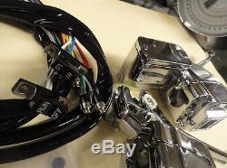 Shovelhead-panhead New 1972-81 Chrome Handlebar Control Kit #44705