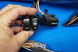 Z-bars Internal Wired Harley FXR Sportster Dyna Softail Controls Switches 13down
