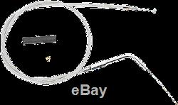 1 1/4 Ape Hanger 16 Contrôle Guidon Chrome Kit Harley 2003 Fl Softail Flst