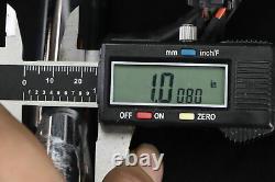 1998 Harley Road King Chrome 14 Ape Hanger Barres De Poignée Et Kit De Commande D'interrupteur À Main