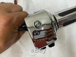 2006 Harley Electra Glide Flh Chrome Lt Rt Commandes Manuelles Changer Câbles Logement