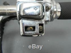 # 3133 2012 09 À 13 Harley Davidson Street Glide Poignée Bar / Commandes Chrome