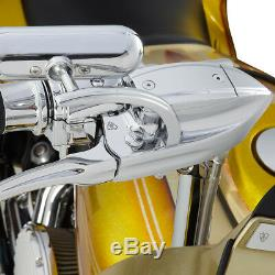 Arlen Ness Rad III Commandes Guidon Chrome Embrayage & Frein 15mm Harley 08-13