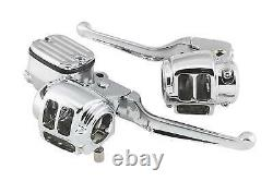 Biker's Choice Handlebar Control Kits Chrome Without Switches #26-068
