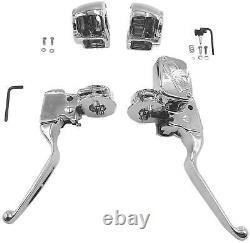 Bikers Choice 53454 Kit De Commande De Guidon Sans Interrupteurs Chrome