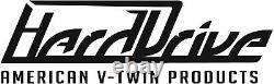 Chrome Complete Poignée Bar Kit De Contrôle Avec Commutateurs Noirs Harley Wide Glide 80-81