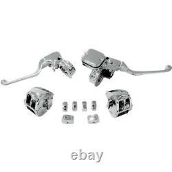 Chrome Handlebar Control Mécanique Sans Switch Drag Spécialités H07-0755kds