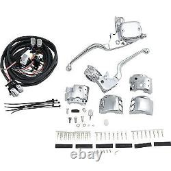 Drag Specialties 9/16 Master Cylinder Handlebar Controls Pour'96-'13 0610-0528
