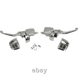 Drag Specialties 9/16 Master Cylinder Handlebar Controls Pour L'embrayage Hydraulique