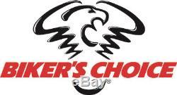 Ensemble De Commande De Guidon Bikers Choice Sans Interrupteurs Chromés 26-067 48-8730