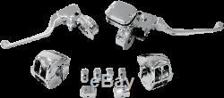 Faites Glisser Specialties Chrome Kit Guidon De Commande Avec Embrayage Mécanique 0610-0533