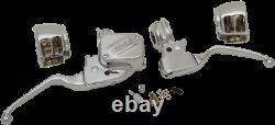 Faites Glisser Specialties Guidon Contrôle Kit 0610-1679 Chrome