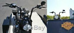 Fat 10 Black Ape Cintres Guidons Commandes Manuelles Commutateurs 1-1 / 4 Bar Harley