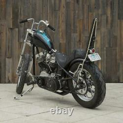 Guidon Chrome Re-bar 1 (fossette Pour Les Commandes Manuelles Harley-davidson Stock)