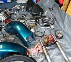 Harley Davidson Chrome Commandes De Guidon Commutateurs Leviers Câbles Poignées