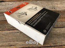 Harley Davidson Véritables Commandes Au Guidon Chrome Kit Nouveau Hd # 41700324a
