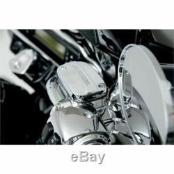 Harley-davidson 08-13 Flh Flt Chrome Kit De Contrôle Guidon Avec Alésage 15mm