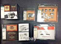 Nouveau Kit Harley, Commandes De Poignée Chrome- Flh P/n 70426-08